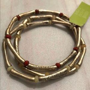 🔥⚡️BOGO SALE⚡️🔥Sigrid Olsen 3 Stretchy Bracelets